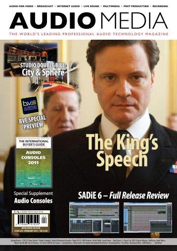 SADiE 6 – Full Release Review City & Sphere - Audio Media