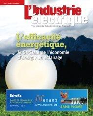L'efficacité énergétique, - Electrical Business Magazine