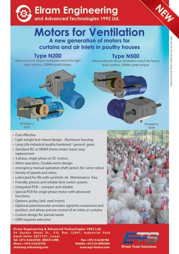 Download Product Catalog in PDF - Agri-motors.com