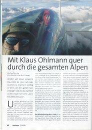 Mit Klaus Ohlmann quer durch die gesamten Alpen - Quo Vadis