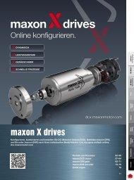 maxon drives