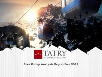Prezentácia programu PowerPoint - Tatry Mountain Resorts