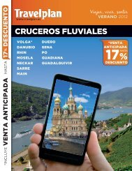 CRUCEROS FLUVIALES - Travelplan - Mayorista de viajes