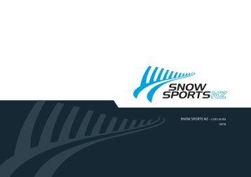SNOW SPORTS NZ - LOGO GUIDE 2012