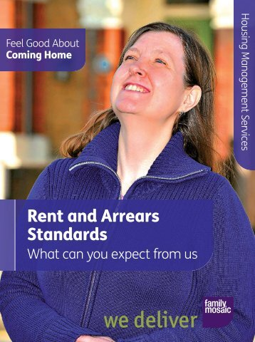 Rent and Arrears Standards - Family Mosaic