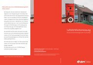 Luftdichtheitsmessung - Stadtwerke Gelnhausen GmbH