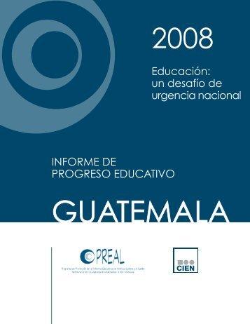 INFORME DE PROGRESO EDUCATIVO - OEI