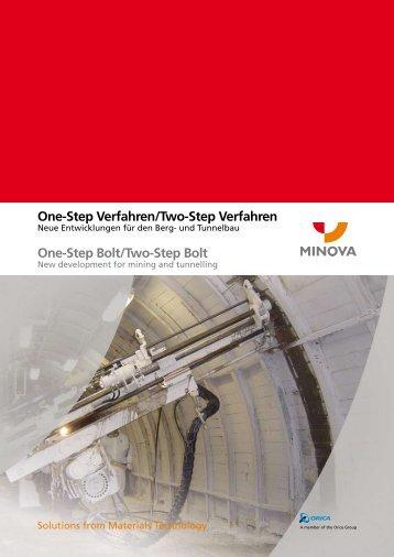 One-Step Verfahren/Two-Step Verfahren One-Step Bolt ... - Minova-ct