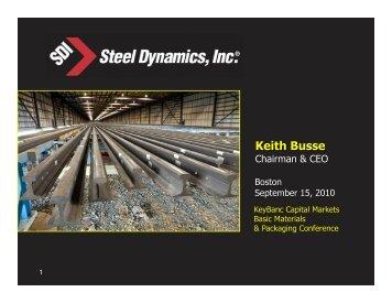 September 2010 1 - Steel Dynamics, Inc.