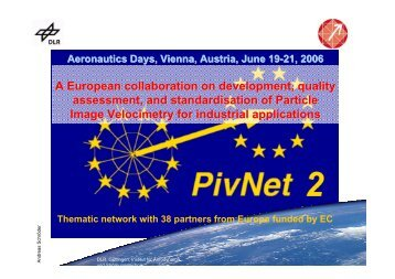 A European collaboration on development, quality assessment, and ...