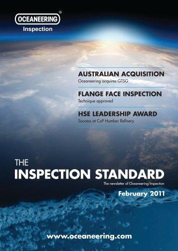 INSPECTION STANDARD - Oceaneering