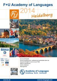 Heidelberg - F+U Language School