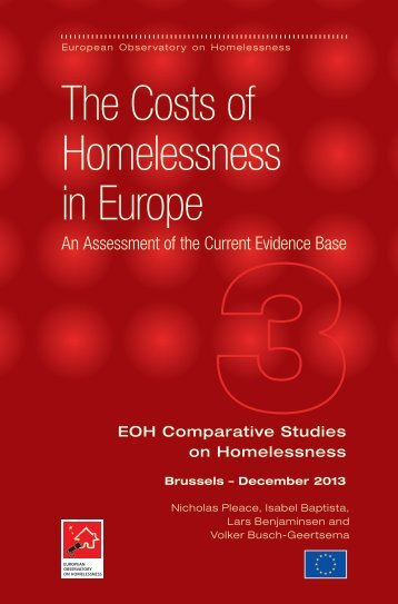 Cost of homelessness report (PDF , 594kb) - University of York