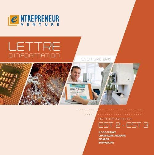 Lettre d'Info - FIP Entrepreneurs Est 2 - Haussmann Patrimoine