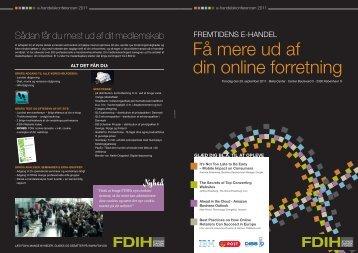 Download program for E-handelskonferencen 2011 - FDIH