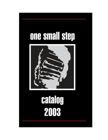 catalog 2003 one small step