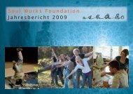 Jahresbericht 2009 - Soul Works Foundation