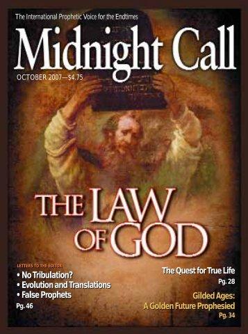 No Tribulation? - Midnight Call Ministries