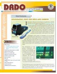 Issue 2, Feb 2007 - DRDO