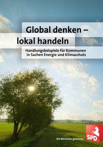 Global denken - lokal handeln - SPD Niedersachsen