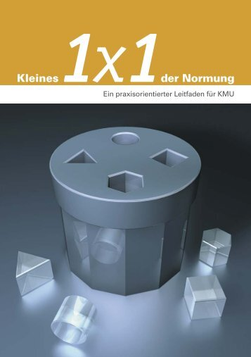 Kleines 1x1 der Normung - DIN Deutsches Institut für Normung e.V.