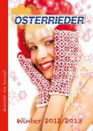 Winterkatalog 2012/2013 - Osterrieder Reisen