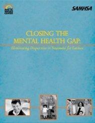 Closing the Mental Health Gap - Southern Rural Development Center