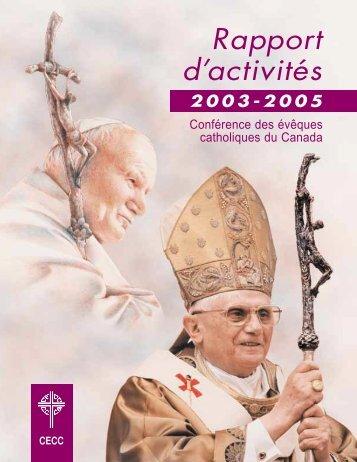 cliquant ici - Conférence des évêques catholiques du Canada