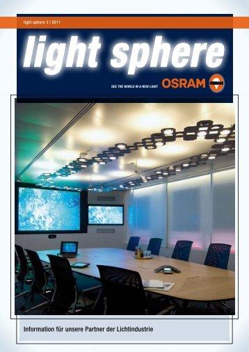 light sphere 3/2011 - Osram
