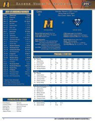 Game Notes - Murray State University