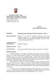 Nacrt prijedloga Proračuna Krapinsko-zagorske županije za 2012 ...