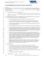 brokerage agreement - Port Sanilac Marina