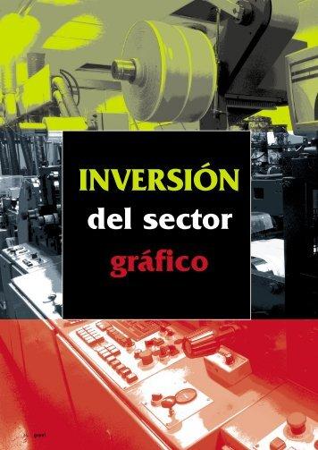 INVERSIÓN del sector gráfico