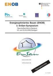 12 MB - Energetische Sanierung der Bausubstanz - EnSan