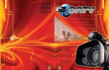 2008 Annual Report - DATV