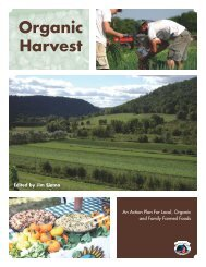 Organic Harvest Report - Illinois Department of Agriculture