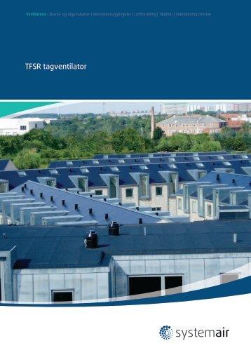 TFSR tagventilator - Systemair