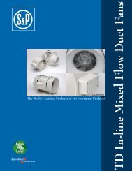 Soler & Palau TD Brochure - James Electric