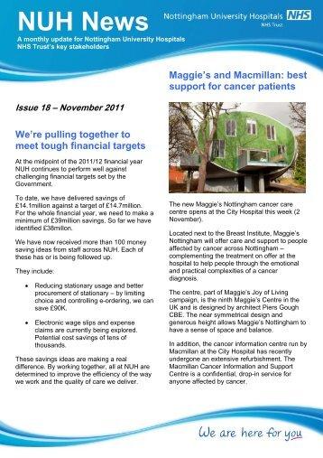 NUH News - Nottingham University Hospitals NHS Trust
