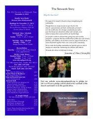 November 4, 2012 Bulletin - St. Joseph Parish