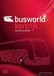 busworld 2013 general terms and conditions - Busworld Kortrijk 2013