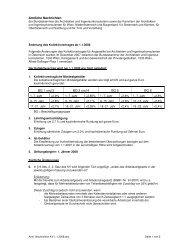 KV-Änderungen ab 1.1.2008 - Bundeskammer der Architekten und ...