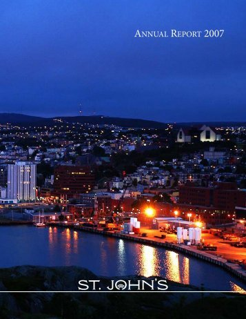 City of St. John's Annual Report 2007