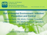 Out of Hospital Environment: Infection Prevention and Control