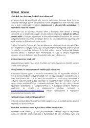 Kérdések - Válaszok - Budapest Bank