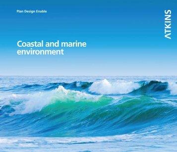 coastal and marine environment brochure - Atkins