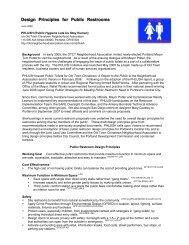 PHLUSH Public Restroom Design Principles