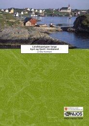 Landskapstyper langs kyst og fjord i Hordaland