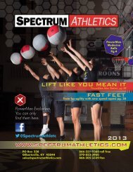PowerMax Exclusives. You can only find them ... - Spectrum Athletics
