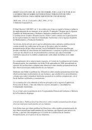 orden sas/3470/2009, de 16 de diciembre, por la que se publican ...